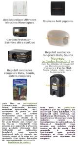 Les principaux produits répulsif